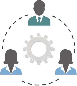 Collaboration and Connectivity icon