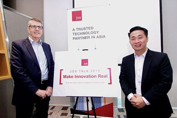Mark Lunt, Group Managing Director, JOS and Steven Soo, Managing Director of JOS Malaysia