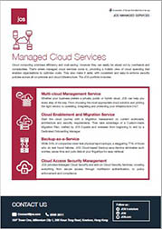 JOS Managed Services - Managed Cloud Services