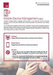 JOS Managed Services - Mobile Device Management (MDM)