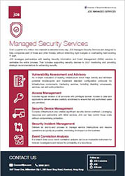 JOS Managed Services - Managed Security Services