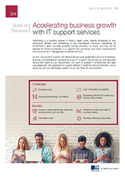 Suite of Services: Accelerating business growth with IT support services - Southeast Asia (SEA)