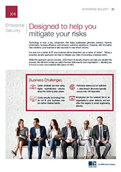 Enterprise Security - Designed to Help You Mitigate Your Risks (Southeast Asia)