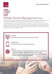HKBN JOS Managed Services - Mobile Device Management (MDM)