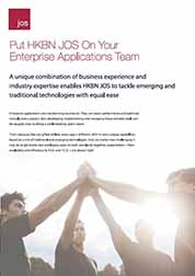 Put HKBN JOS on your Enterprise Applications Team