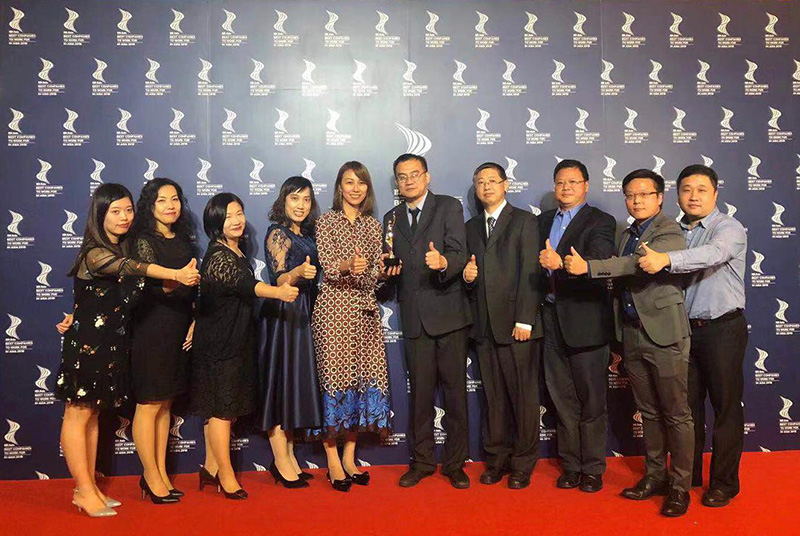 "JOS China received ""Best Companies to Work For in Asia"" at the HR Asia Award Ceremony held in Shanghai."