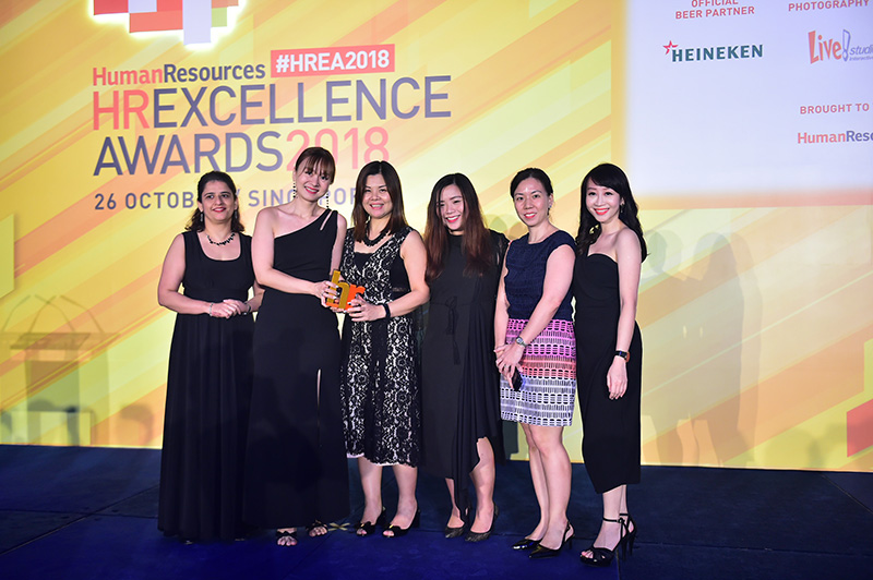 JOS Singapore team received Gold Award in Excellence in Innovative Use of HR Tech at HR Excellence Awards 2018 Singapore.