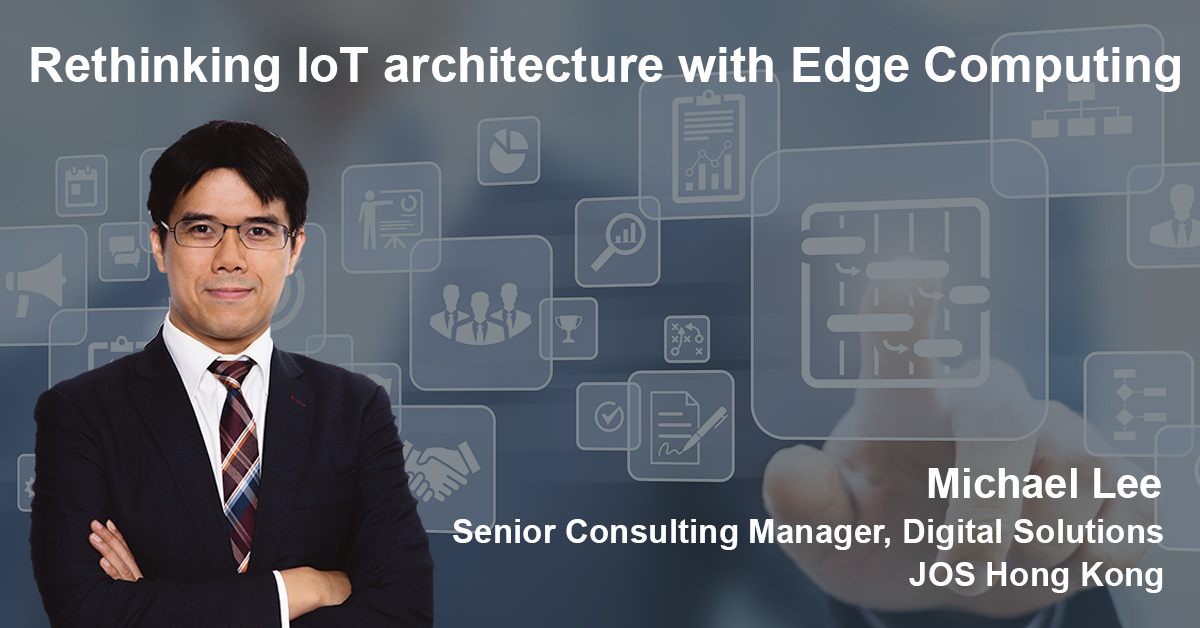 Michael Lee - Rethinking IoT architecture with Edge Computing